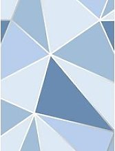 Fine Décor Fine Decor Apex Geometric Blue
