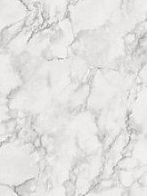 Fine Décor Fine Décor Marblesque White Plain