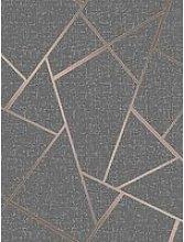 Fine Décor Fine Decor Quartz Fractal Copper