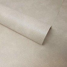 Fine Décor - Light Grey Textured Leather Effect
