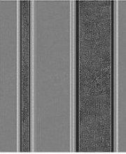 Fine Décor Mallory Stripe Midnight Striped