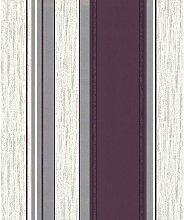 Fine Decor - Plum Purple/Silver Glitter - M0800 -