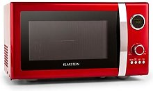 Fine Dinesty 2in1 Microwave Oven Retro 23L 800W 12