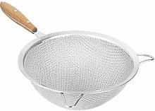 Fine Mesh Strainer with 9 Inch Large Stainless