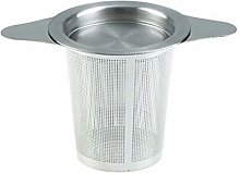 Fine Mesh Tea Strainer with 2 Handles Lid Tea and