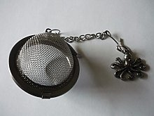 Fine Pewter Octopus codew13 Tea Ball Mesh Infuser