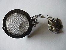 Fine Pewter Wolf codew14 Tea Ball Mesh Infuser