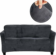 FinerFiber Anti-slip Couch Cover for Leather Couch