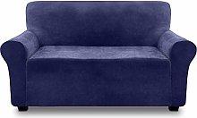 FINERFIBER Sofa Cover | Velvet High Stretch
