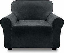 FINERFIBER Velvet High Stretch Strapless Armchair