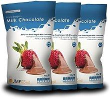Finest Belgian Milk Chocolate Bags 900g x 3 -