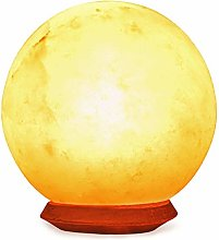 Finest Himalayan Salt Lamp (Sphere) with Dimmer
