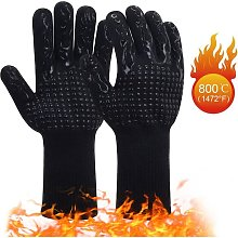 Finger Grill Gloves 1 Pair Barbecue Gloves   Heat