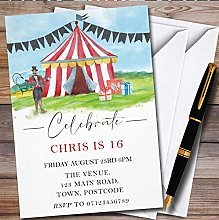 Fingerprint Designs Watercolour Circus Tent
