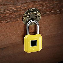 Fingerprint Padlock USB Rechargeable Mini Finger
