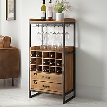 Finley 15 Bottle Wine Cabinet Williston Forge