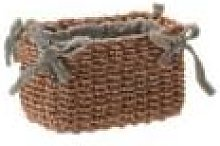 Fiorira' Un Giardino - Dark Beige Mini Abaca