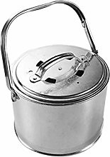 Fire Bowl Pit Basket Stainless Steel Garden Grill