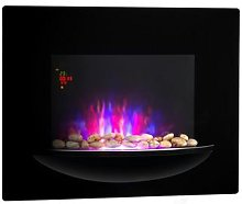 Fire BowlWall-Mounted Fireplace 1800WRealistic