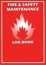 FIRE LOG BOOK A4 COMPLIANT LANDLORD SECURITY SAFETY