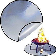 Fire Mat Round Fireproof Mat Outdoor Gas Fire Pad