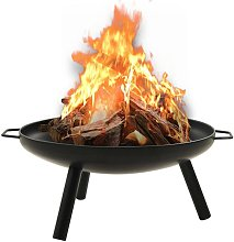Fire Pit 70x59x28 cm Steel - Youthup