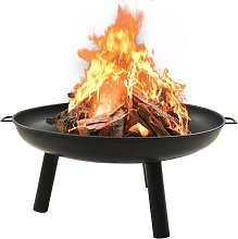 Fire Pit 91x81.5x40 cm Steel - Youthup