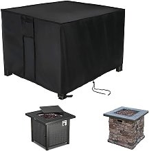 Fire Pit Cover Square - 28x28x25inch Waterproof