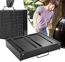 Fire Pit, Foldable Portable Compact Charcoal