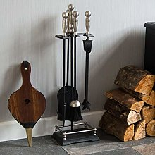 Fire Vida 5 Piece Elton Companion Fireplace