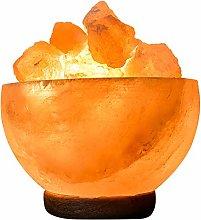 FireBowl Himalayan Crystal Rock Salt Lamp with BS