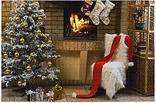 Fireplace Christmas Puzzles for Adults 1000 Piece