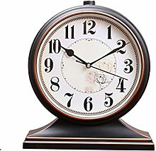 Fireplace clock Retro Clock Table Clock Living