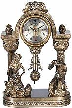 Fireplace Clock Retro Desk Clock Nordic Antique