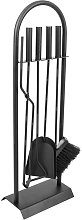 Fireplace companion tool set of 4 accessories for