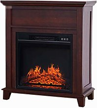 Fireplace Electric Fireplace, Realistic Flame
