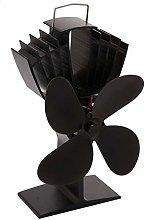 Fireplace Fan 4 Blade Wood Heater Fan Stove