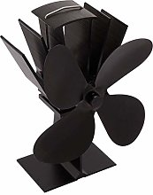 Fireplace Fan 4 Blades Fireplace Fan Thermal Heat