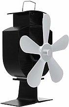 Fireplace Fan 5 Blades Fireplace Fan Thermal Heat
