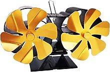 Fireplace Fan, Double End Fireplace Fan, 12 Blade
