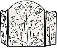 Fireplace Fence 3 Panel Foldable Fire Screen
