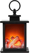 Fireplace Lantern, 6 Hours Timer Super Bright