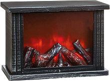 Fireplace Light Decoration (One Size) (Silver) -