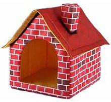 Fireplace Pet House Dog Supplies Chimney Dog House