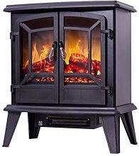 Fireplace RENRUIRUI- Electric Heater With