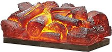 Fireplaces 13.8 Inches Electric Fireplace Logs