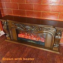 Fireplaces Electric Firebox Burner Fireplace Set
