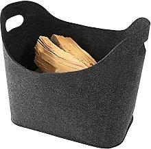 Firewood Bag 1pc Felt Bag Firewood Fireplace Wood