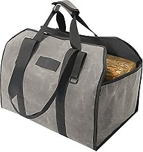 Firewood Bag Camping Firewood Carry Bag Canvas