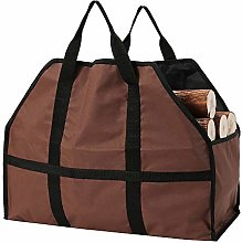 Firewood Log Carrier, Fireplace Wood Carrying Bag,